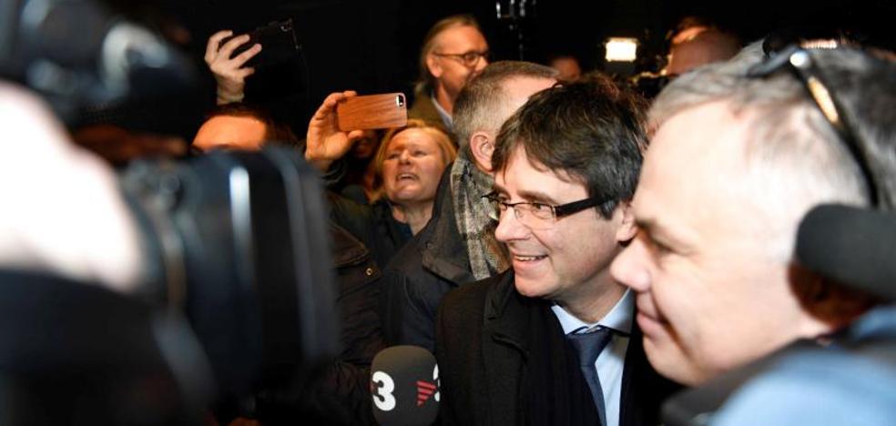 La Fiscalía pide al Supremo que reactive la euroorden de detención de Puigdemont en Copenhague