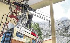 El teleférico de Fuente Dé cierra esta semana por labores de mantenimiento