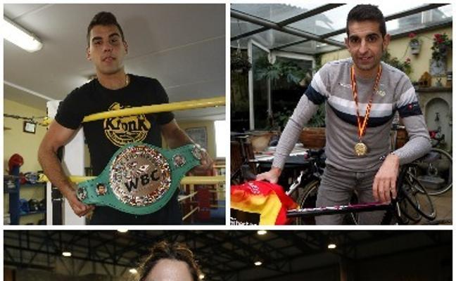Ismael Esteban, el 'Niño' García y Cristina Sanz, candidatos a mejor deportista de Torrelavega