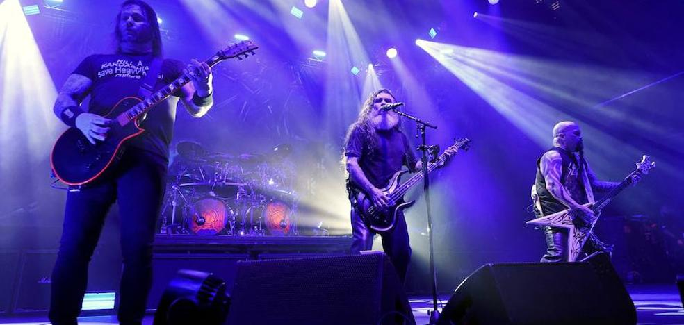 La banda de trash metal estadounidense Slayer dice adiós