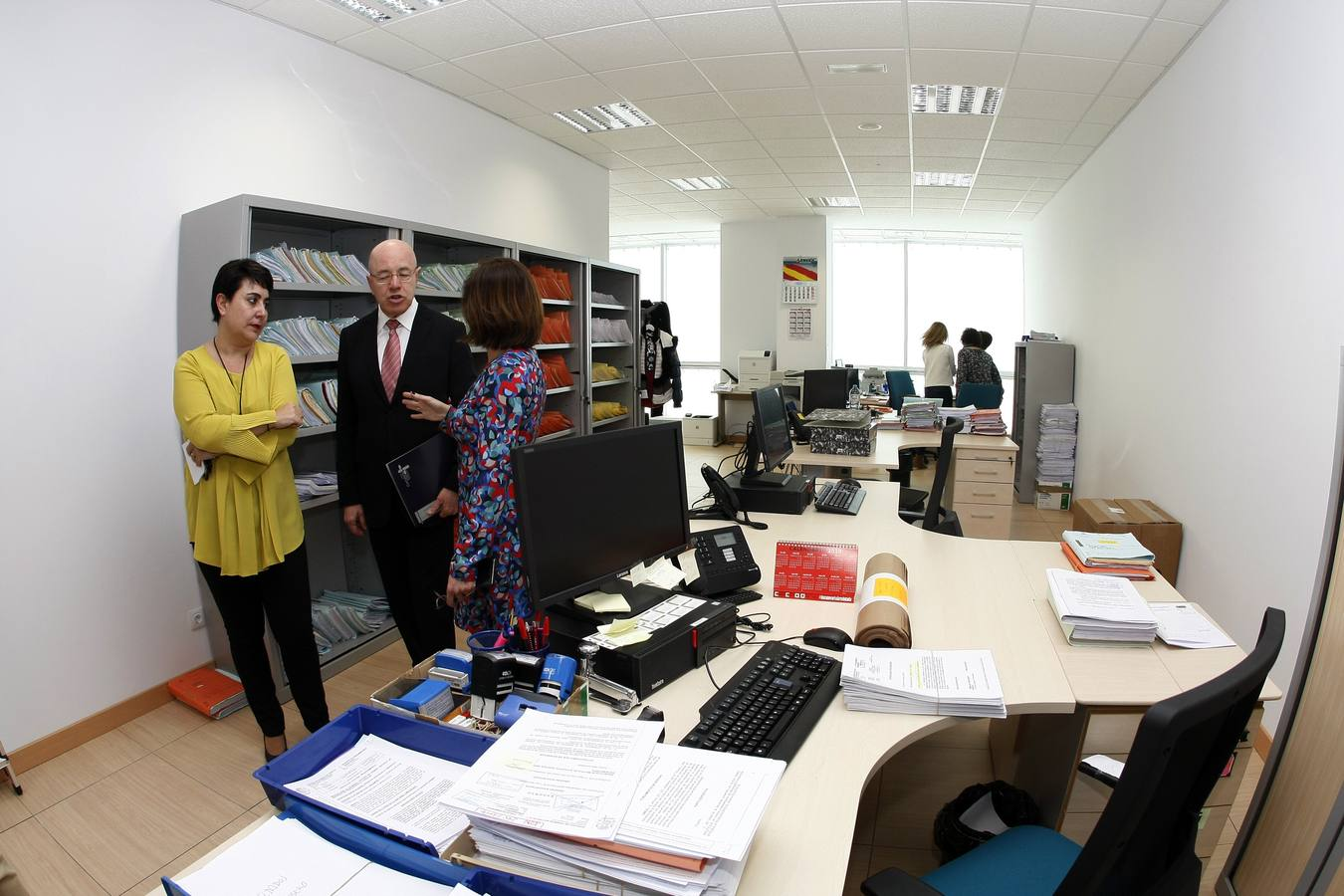 Así son las nuevas instalaciones del Juzgado nº7 de Torrelavega
