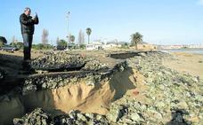 La oposición de Laredo reclama al alcalde medidas que eviten el deterioro del Puntal