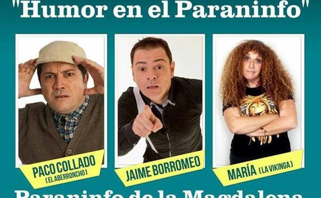 El Aberroncho, Jaime Borromeo y La Vikinga llegan este sábado al Paraninfo de la Magdalena