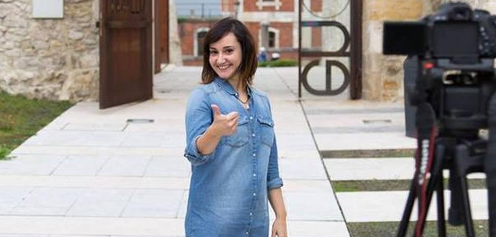 La actriz Maije Guerrero imparte un taller de cine y televisión en Pronillo