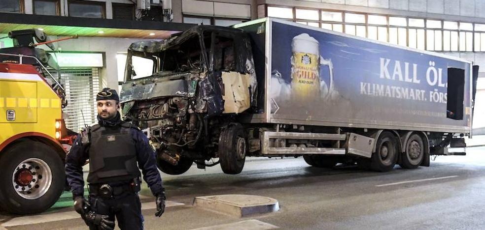 El autor del atropello de Estocolmo quería castigar a Suecia por perseguir al Estado Islámico