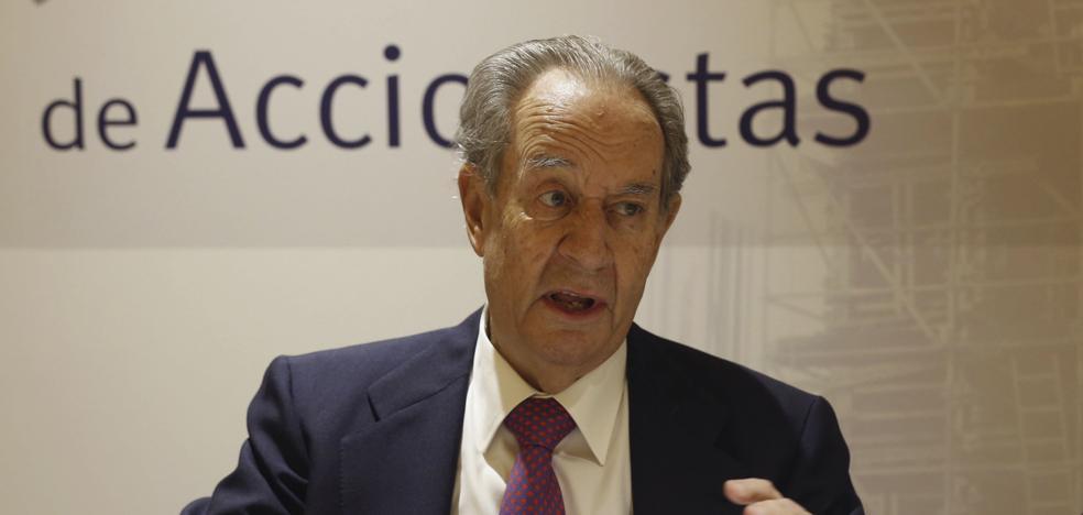 El juez imputa a Villar Mir por supuestas donaciones a cambio de las obras del Metro en Madrid