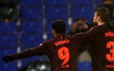La celebración de Piqué, sin sanción por última vez