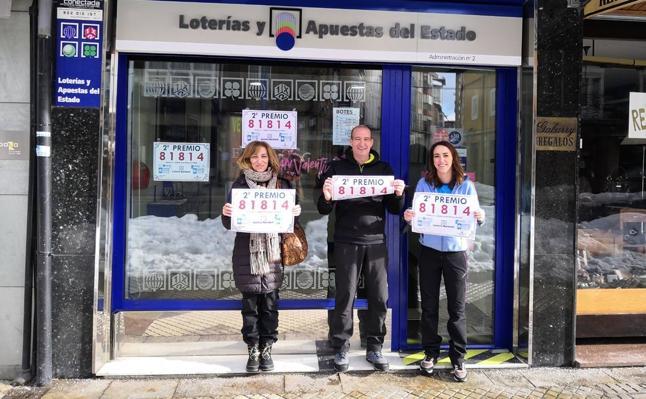 La Lotería Nacional deja 120.000 euros en Reinosa