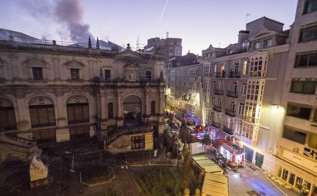 La aseguradora del MAS asumirá los daños que el incendio provocó en el inmueble
