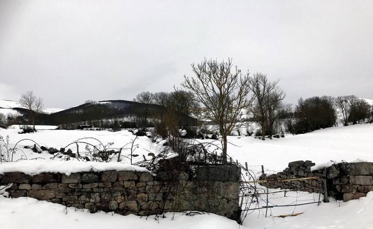 El Sur de Cantabria sigue blanco