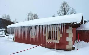 Reinosa roza los ocho grados bajo cero, una de las temperaturas más bajas del país