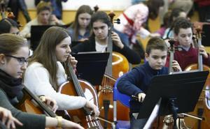 El Ataúlfo Argenta participa en el encuentro de violonchelos de Cantabria