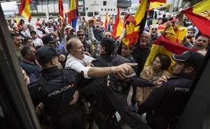 El juzgado no ve delito de odio en los incidentes tras el mitin de Pablo Iglesias en Santander