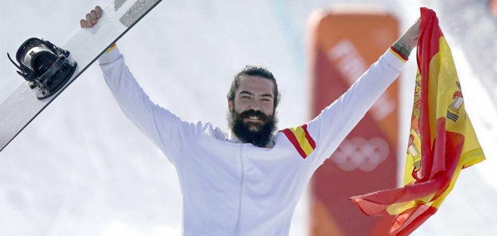 Bronce para Regino Hernández en el snowboardcross, prueba en la que el cántabro Herrero cayó en octavos