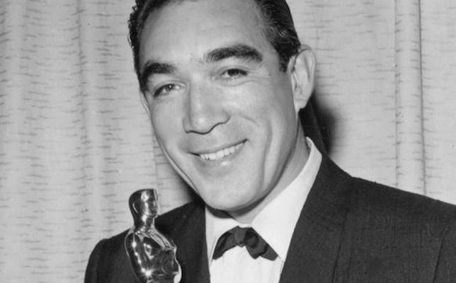Anthony Quinn, el primer hispano que ganó un Oscar