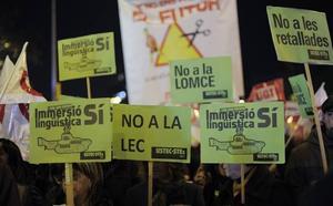 El debate lingüístico enfrenta a PDeCAT y Esquerra con el entorno de Puigdemont