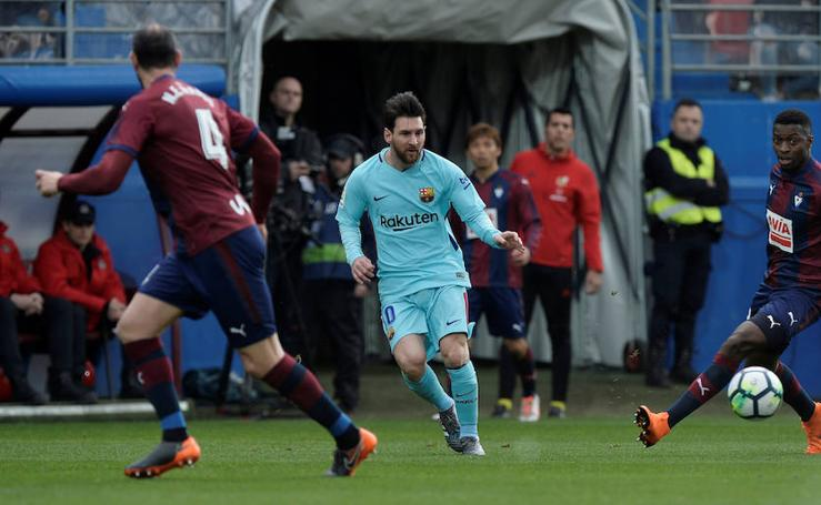 Las mejores imágenes del Eibar-Barcelona