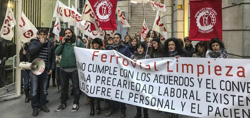 La conflictividad laboral repunta un 12,6% en Cantabria después de cuatro años de descensos