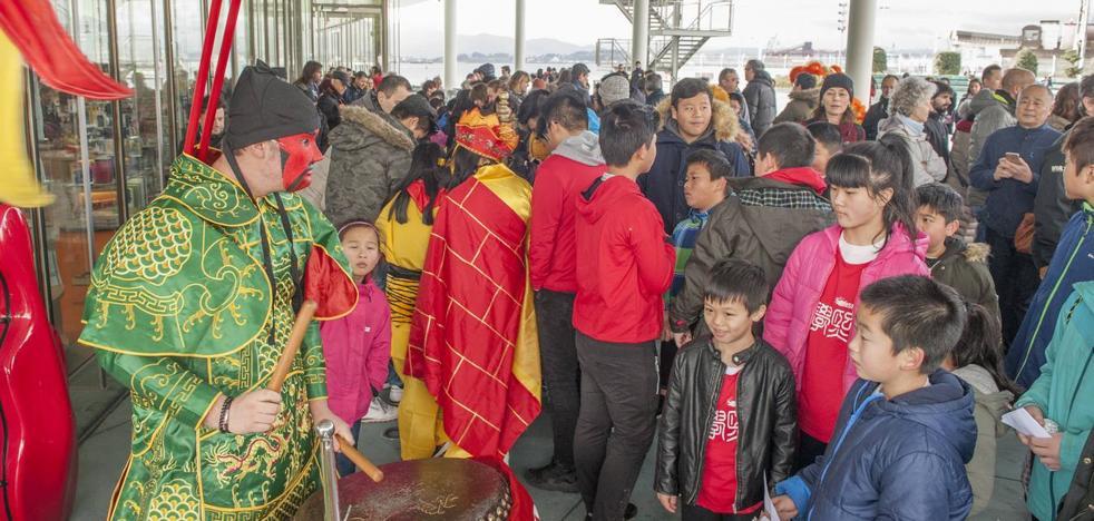 Fiesta del Año Nuevo Chino en Santander