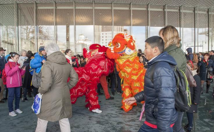 Celebración del Año Nuevo Chino en el Centro Botín