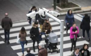 Cientos de cámaras vigilan el día a día de los santanderinos