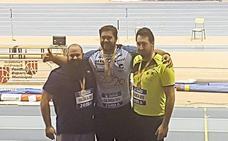 Carlos Tobalina, plata en el Nacional de pista cubierta