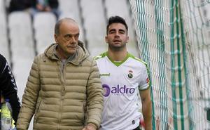Óscar Fernández sabrá hoy el alcance de su lesión