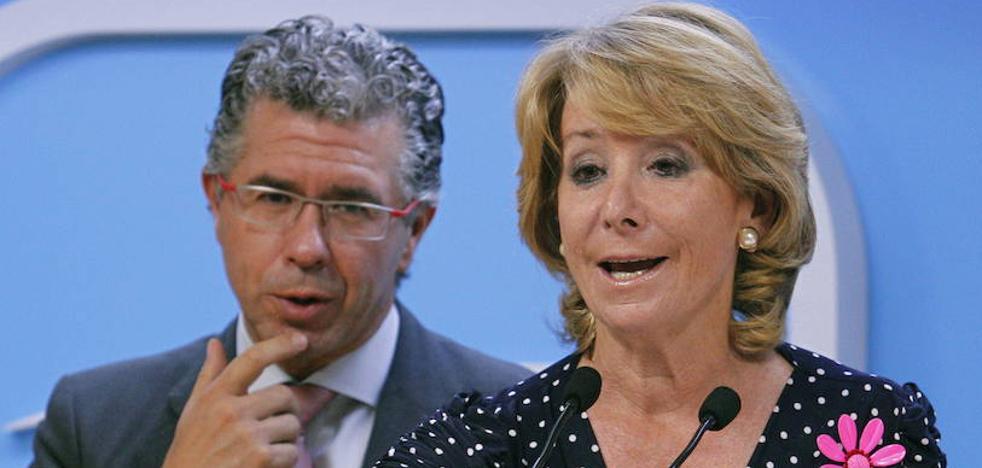 Aguirre no se querellará contra Granados porque «no tiene dinero para abogados»