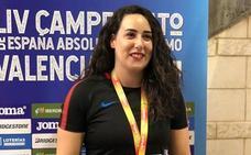 Elena Gutiérrez, bronce en peso