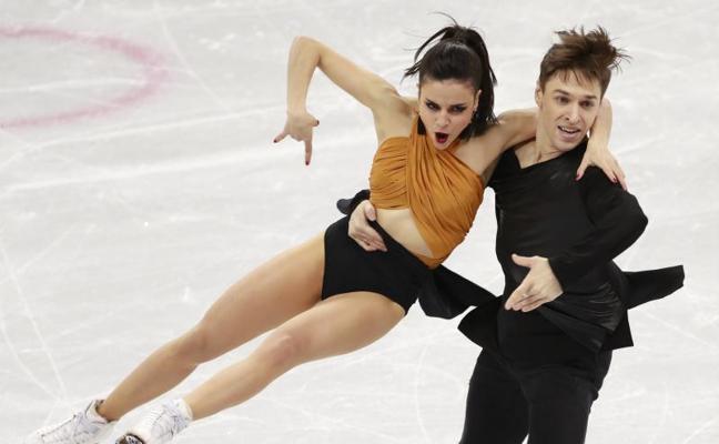 Sara Hurtado y Kirill Khaliavin, duodécimos tras el programa corto de danza