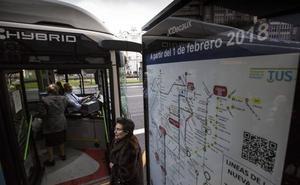 La alcaldesa de Santander abre la puerta al rediseño de algunas líneas del MetroTUS