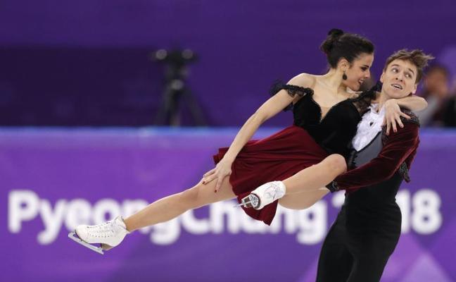 Sara Hurtado y Kirill Khaliavin finalizan en el duodécimo puesto en danza