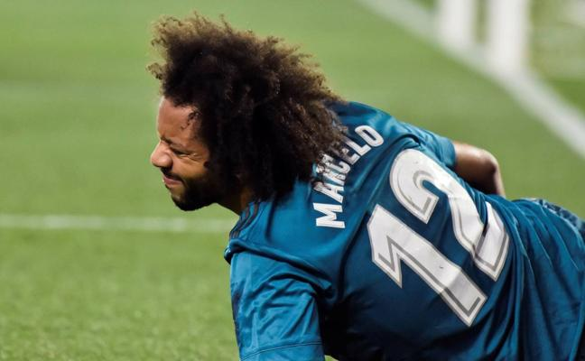 Modric y Marcelo sufren sendas lesiones musculares en el bíceps femoral de la pierna derecha