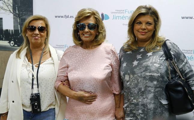 María Teresa Campos evoluciona favorablemente tras una operación por suboclusión intestinal