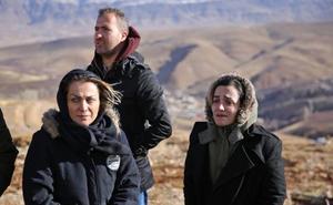 El avión siniestrado en Irán impactó con la cima de una montaña antes de estrellarse