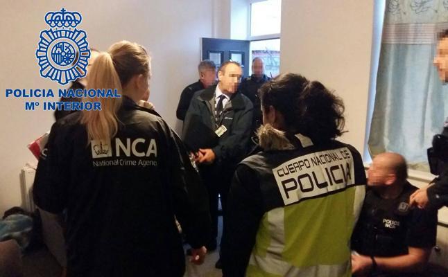 Detenida una pareja de Torrelavega que lideraba una red internacional de explotación sexual