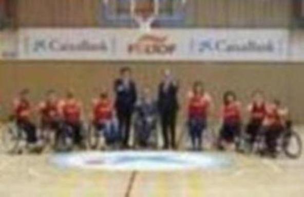 CaixaBank impulsa el baloncesto en silla de ruedas