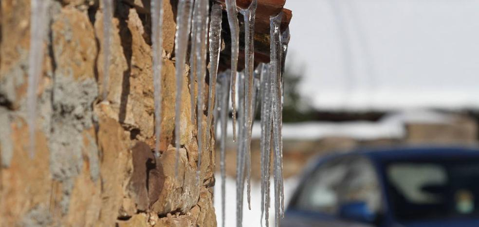 Cantabria ha amanecido a 10 grados bajo cero