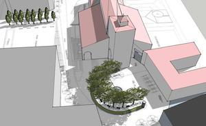 Más de un millón de euros para 'lavar la cara' a la plaza de la Catedral de Santander