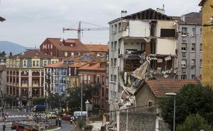 La Audiencia exonera al Ayuntamiento de Santander por el derrumbe del edificio de la calle Sol