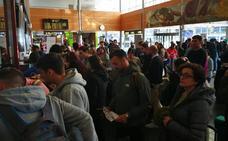 300 pasajeros se quedan tirados en Roma y Santander al cancelar su vuelo Ryanair