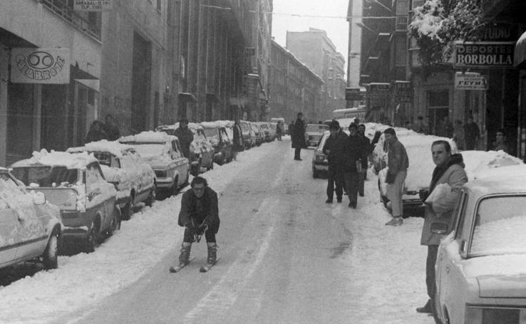 La gran nevada de 1985 en Santander