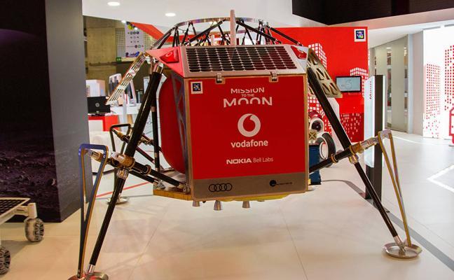 El 4G llegará a la Luna