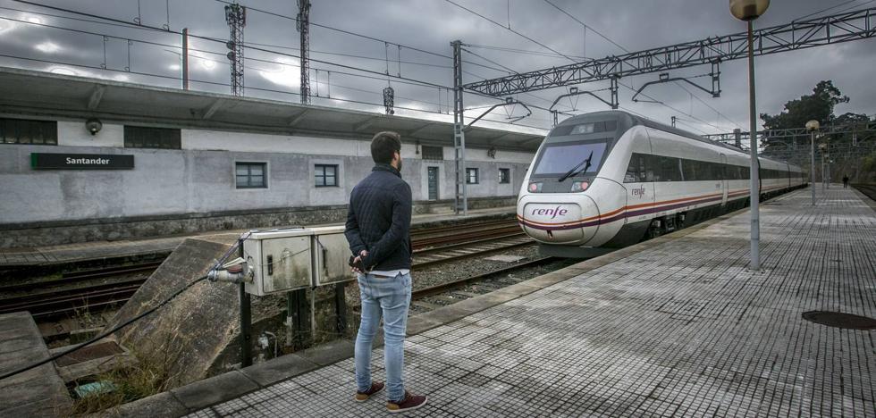 Fomento licita los proyectos de cuatro tramos del tren rápido entre Palencia y Alar del Rey