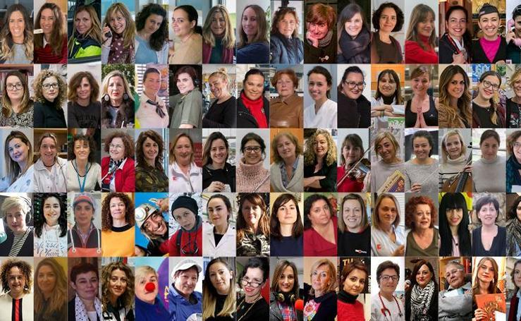 100 mujeres, 100 voces, 100 mensajes