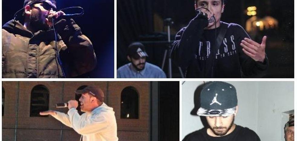 Cuatro cántabros buscan convertirse en el mejor rapero del norte de España
