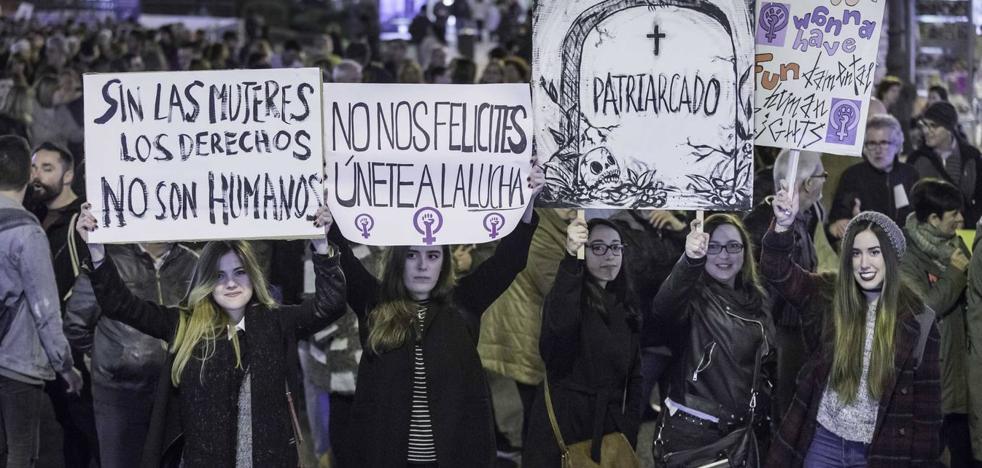 Todos los actos en Cantabria de la primera huelga general feminista