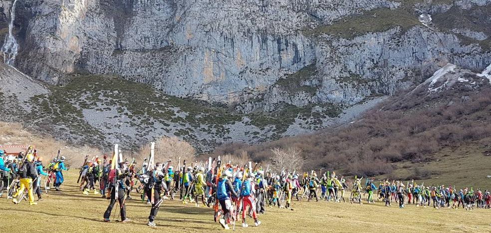 El viento obliga a modificar la Copa Andrés Regil de esquí