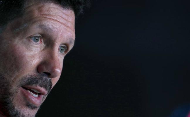 Simeone: «Oblak dice que está bien y jugará ante el Celta»