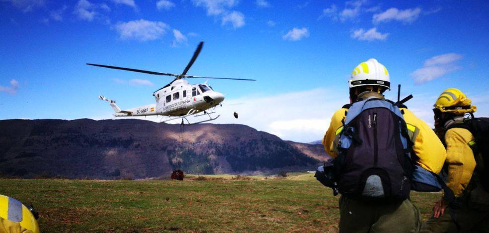 Los cien incendios forestales surgidos en los últimos cuatro días han sido «premeditados»